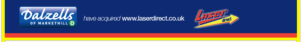 Dalzell's of Markethill have acquired www.laserdirect.co.uk